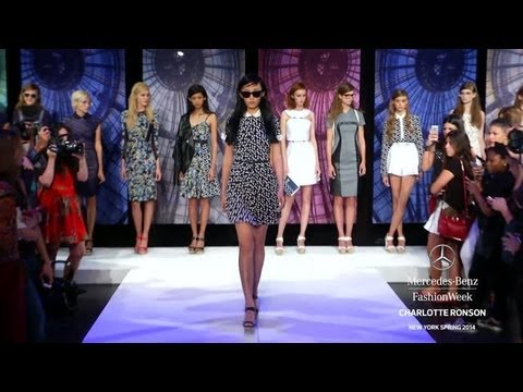 CHARLOTTE RONSON: MERCEDES-BENZ FASHION WEEK SPRING 2014 COLLECTIONS
