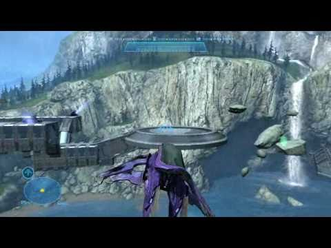 Space battle map 2, Halo Reach forge map