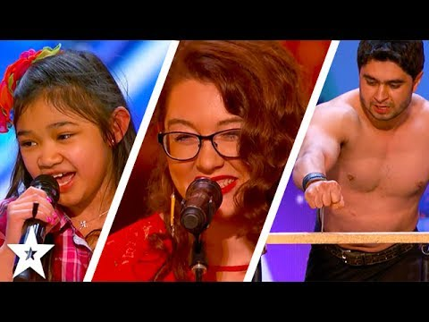 America's Got Talent 2017 Week 2 Auditions | Mandy Harvey, Billy & Emily England & More!!