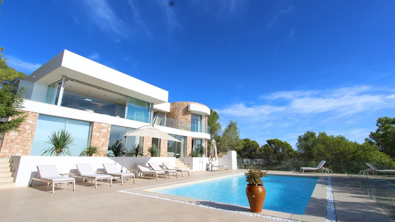 Stunning property in Ibiza with sea view at Es Cubells - Luxury Villas Ibiza