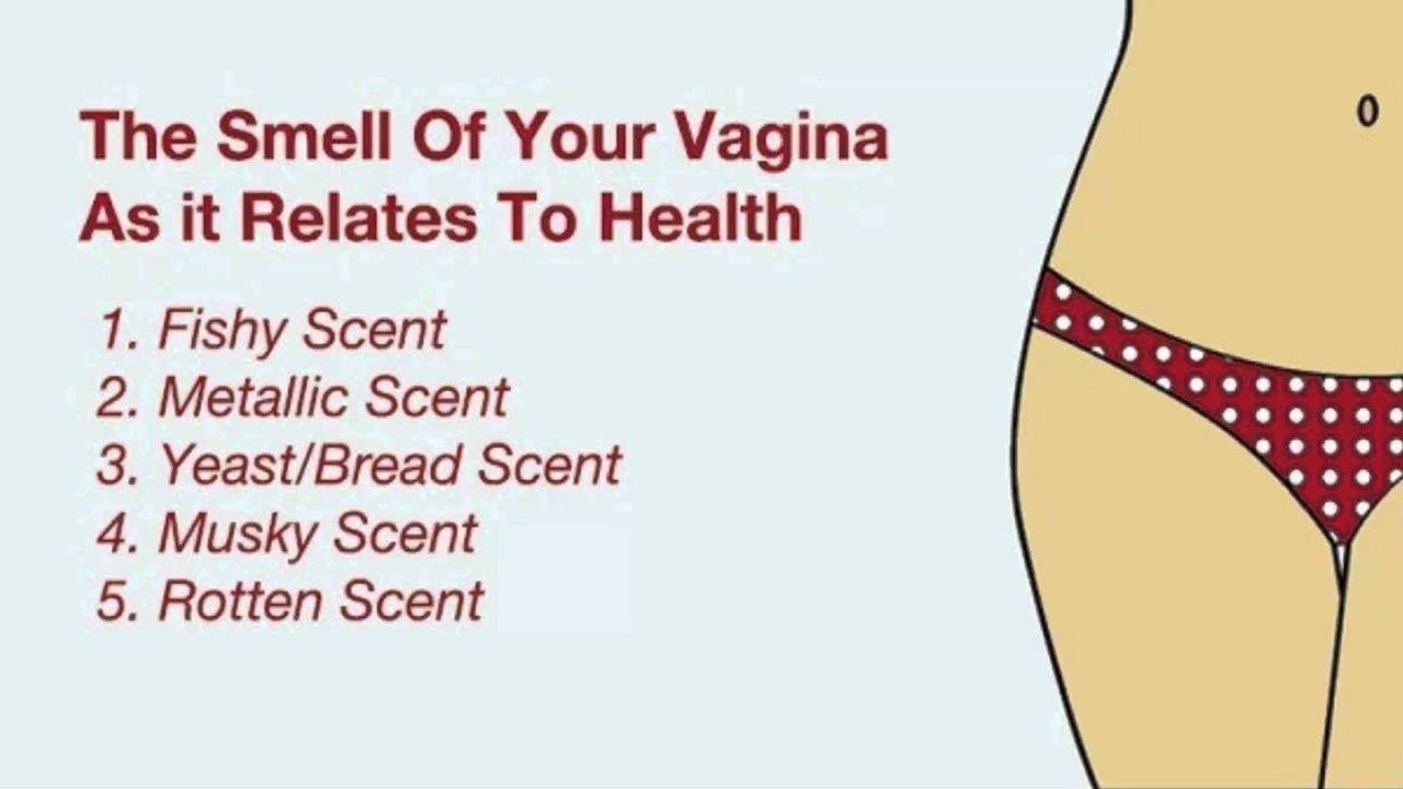 My vagina has an odor