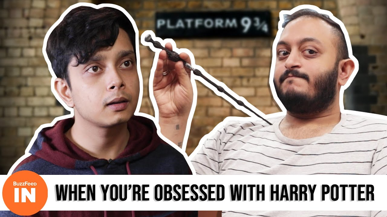 When You're Obsessed With Harry Potter | Ft  Andre Borges | BuzzFeed India