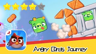 Angry Birds Journey 10-11 Walkthrough Fling Birds Solve Puzzles Recommend index four stars