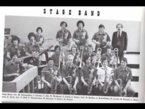 Jamesville Dewitt High School Jazz Ensemble 1977 - West Side Story Medley