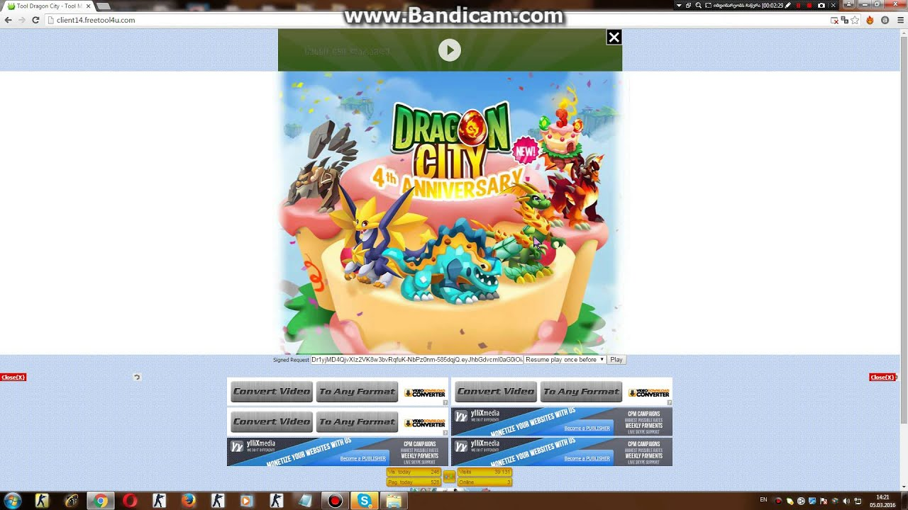 Dragon City Hack (ქართულად) - YouTube - photo#7
