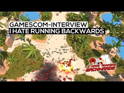 I hate running backwards - gamescom 2017-Interview