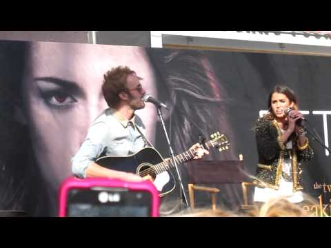 Nikki Reed & Paul McDonald- All I've Ever Needed (LIVE)