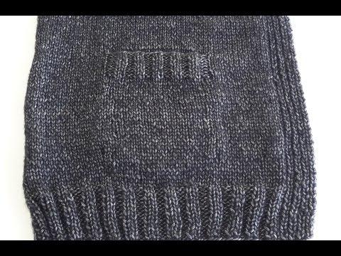 Örgüde Cep Yapma Tekniği (How to Knit a Pocket)