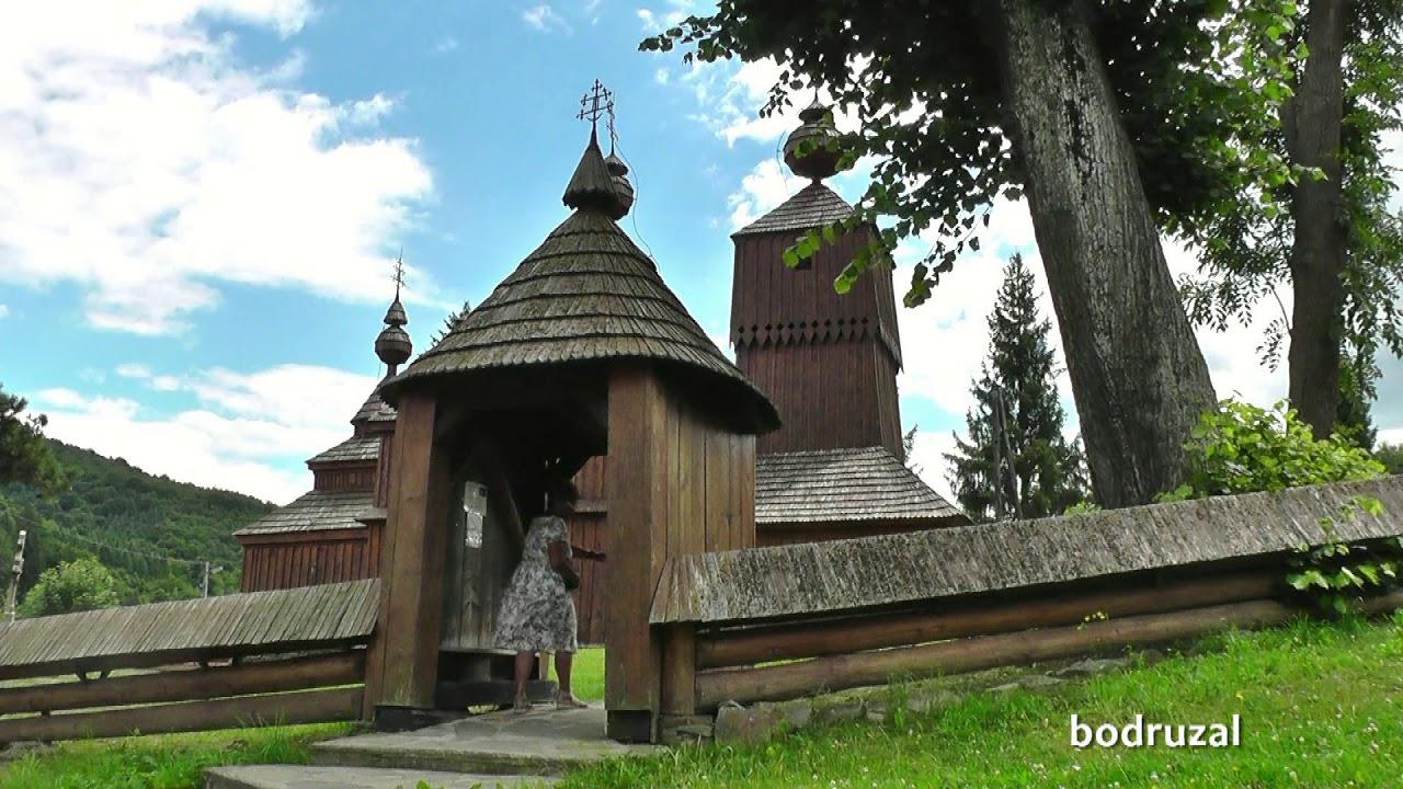 Slovakia Wooden Churches Hd Video