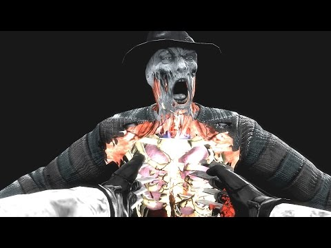 Mortal Kombat 9 Komplete Edition - All X Ray Moves with Camera Mod (1080p 60FPS)