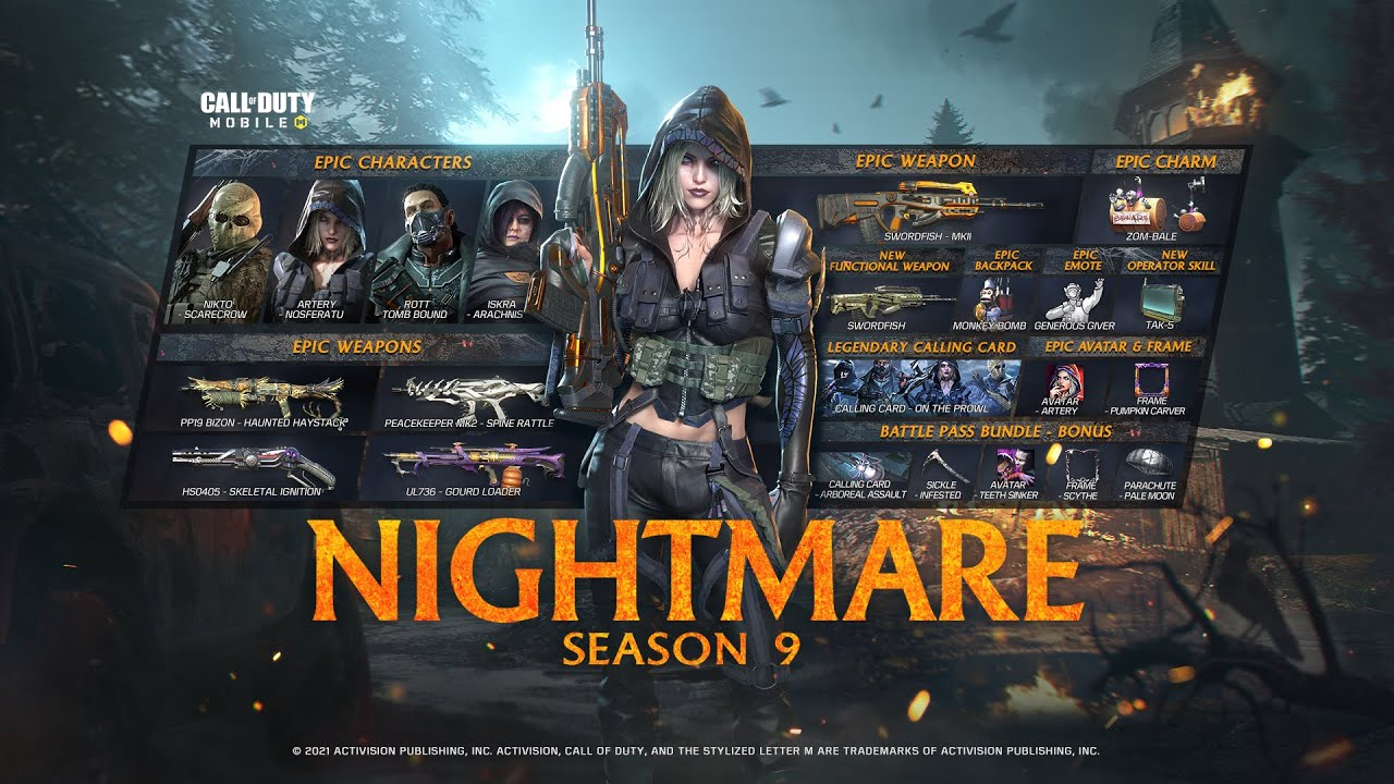 Call of Duty®: Mobile - Season 9 Nightmare | Battle Pass Trailer