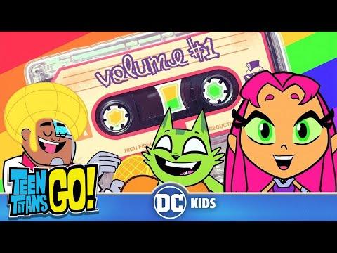 Teen Titans Go! KARAOKE | Super Mixtape Vol.1 | DC Kids