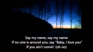Repeat youtube video The Neighbourhood - Say my name / Cry me a river lyrics