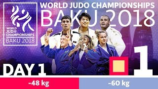 World Judo Championships 2018: Day 1 - Elimination