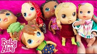 Baby Alive Doll Collection Series Part 3 -- My Tiniest Baby Alive Dolls