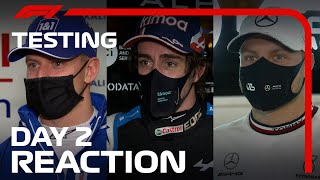Driver Reactions After Day 2 Of 2021 Pre-Season Testing