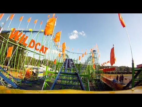 Wildcat Roller Coaster - North Georgia State Fair - Official Video - GoPro HD POV