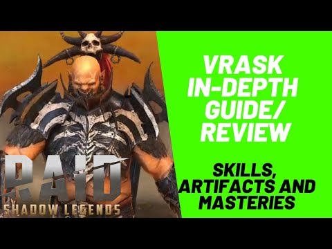 Vrask In-Depth Guide/Review| Raid: Shadow Legends