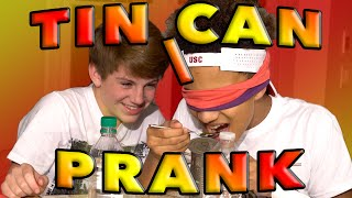 Tin Can Challenge (MattyBRaps PRANK!)