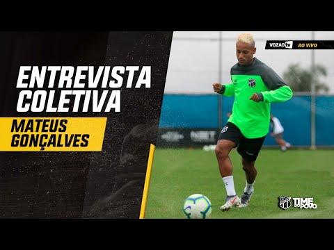 COLETIVA Coletiva Mateus Gonçalves  20082019  Vozão TV