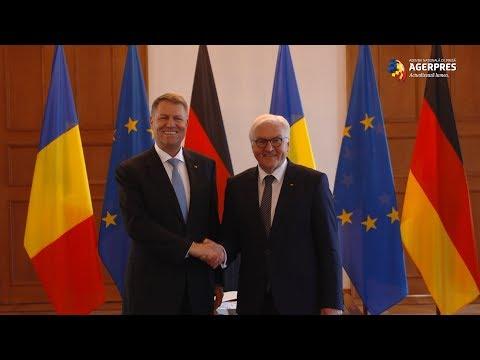 Președintele Klaus Iohannis, întâlnire cu președintele german, Frank-Walter-Steinmeier