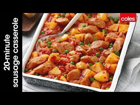 20 Minute Sausage Casserole