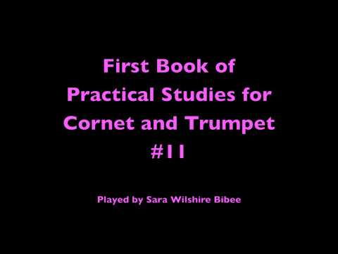 Getchell Hovey First Book of Practical Studies for Cornet or Trumpet #11