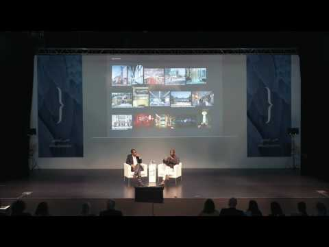 "Okwui Enwezor and David Adjaye in Conversation Talk - ""أوكوي إنويزور وديفيد أدجاي في حوار"""