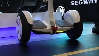Segway Mini Pro hits back at hoverboards(See more from CES 2016: http://www.cnet.com/ces/ Segway is back with a vengeance with the Mini Pro, a self-balancing scooter that can be remotely controlled ..., 2016-01-08T18:34:37.000Z)