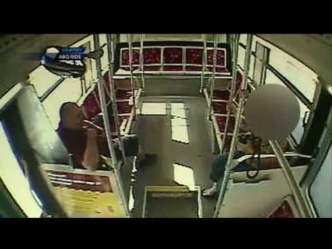 Albuquerque city bus driver caught in sex act on the job (SURVEILLANCE VIDEO) thumbnail