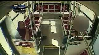 Albuquerque city bus driver caught in sex act on the job (SURVEILLANCE VIDEO)