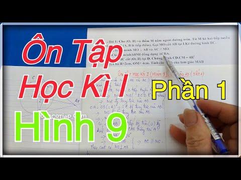 Ôn Tập Học Kì 1 Toán 9 - Ôn Tập Thi Lớp 10 - Tiết 1