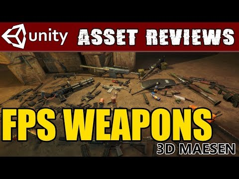 Unity Asset Kit Reviews - FPS weapons