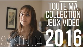 TOUTE MA COLLECTION 2016 DE JEUX VIDEO - RetrOxydia