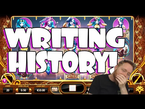 Writing History With Cazino Zeppelin! Record Breaking Win!!