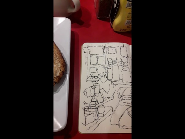 Steak, Eggs, and a Sketch 4 100518