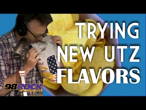 Trying The New Utz Flavors