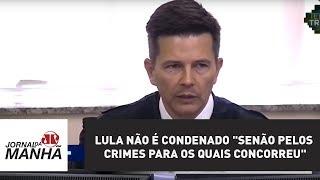 Lula não é condenado