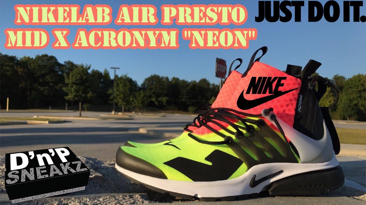 new style 65a04 fbc1c NikeLab Air Presto Mid x ACRONYM