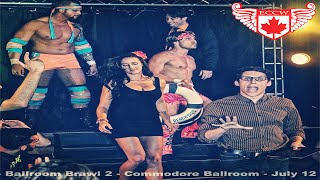 The Entourage (with Peter Brown) VS The Riot - ECCW Ballroom Brawl 2