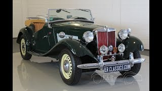 MG TD Roadster 1953 -VIDEO- www.ERclassics.com