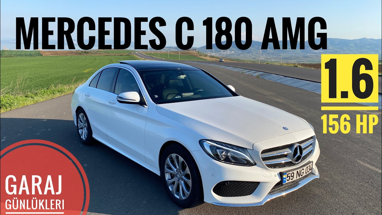 Mercedes C 180 AMG /  1.6 156 HP / Ekonomik Sınıf / 2015 C180 i 2020 de Test etmek