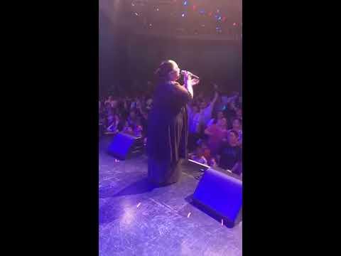 Marina Davis singing Live in Las Vegas