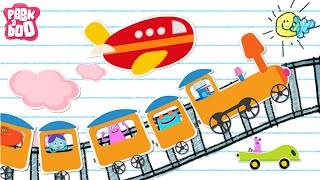 Aeroplane Aeroplane | Modes Of Transport | English Songs And Rhymes For Kids | Peekaboo