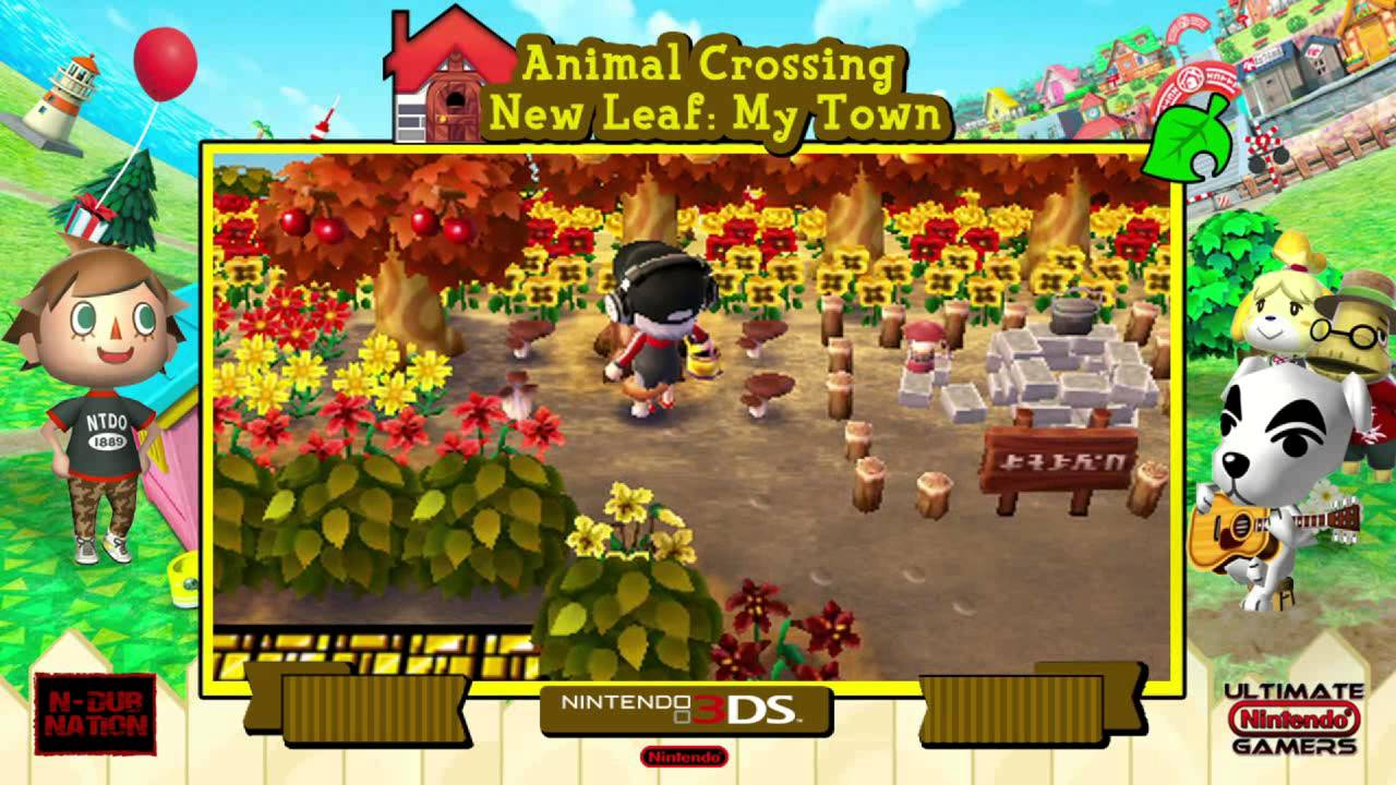 Animal Crossing New Leaf OST 'Harvest Festival ... - YouTube