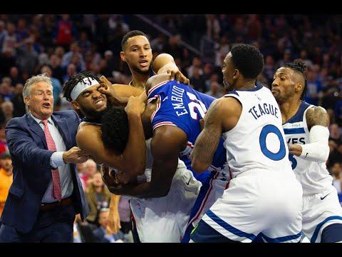 Maverik - NBA Fight Club! Joel Embiid Vs. Karl Anthony Towns