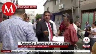 Autoridades de CdMx y del Edomex evalúan daños en San Juanico