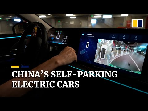 Chinese XPeng electric car can drive and park by itself
