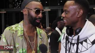 #SAMAHipHopRedCarpet Riky Rick's Most Talked About Outfit N Deep Gucci Connects