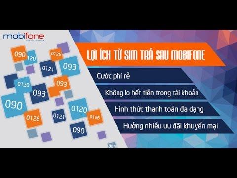 Kho Sim Số đẹp Mobifone Trả Sau